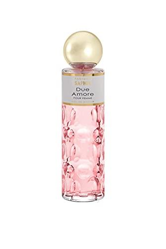 Parfums Saphir Due Amore - Eau de Parfum Vaporisateur Femme - 200 ml