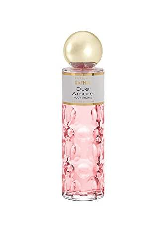 PARFUMS SAPHIR Due Amore - Eau de Parfum con vaporizador para Mujer - 200 ml