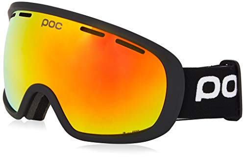 POC Fovea Clarity, Uranium Black/Spektris Orange, ONE SIZE