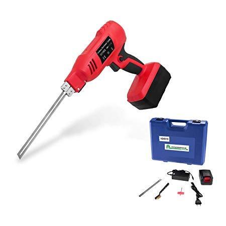 Thermo-messenset met accu 36 V – draadloos mes voor messen van 15 cm tot 25 cm in koffer.