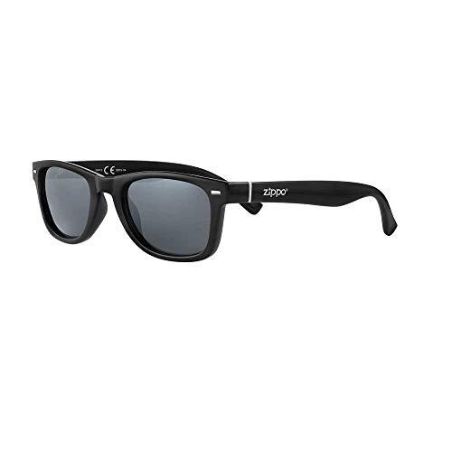 Zippo Sonnenbrille 2020 OB76-04 dunkle Gläser mit schwarzem Rahmen
