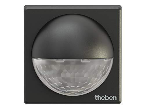 Theben 1010201 theLuxa R180 BK – 180° Passiv Infrarot (PIR) Bewegungsmelder für den Außenbereich - Gehäusefarbe Schwarz