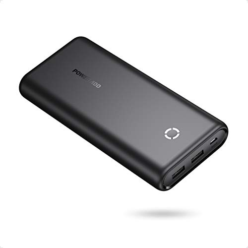 POWERADD EnergyCell 20000 Portable Charger, 20000mAh Power Bank with 2 USB Ports, Fast Charging Compatible for iPhone 11 pro max Samsung Google LG iPad and More