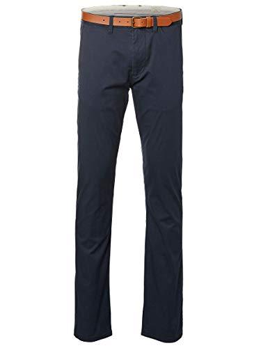 SELECTED HOMME Herren Shhyard Slim St Pants Noos Hose, Dark Sapphire, 32W 32L EU