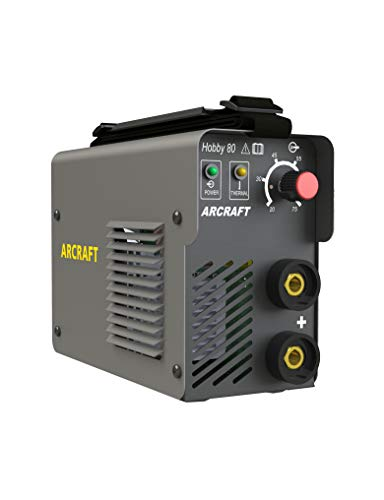 ARCRAFT Hobby80 Mini DC Arc Welder, Inverter, IGBT, 110/120 Volt, 20–75 Amp Output, Portable Stick Welder