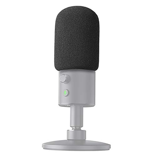 YOUSHARES Mikrofon Windschutz Schaumstoff Popschutz - Microphone Foam Windscreen Pop Filter für Razer Seiren X Streaming Microphone