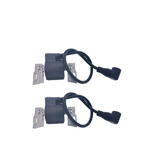 PARTSRUN 592846 2PCS Ignition Coil Module for Briggs & Stratton 691060 Magneto Armature for B&S John Deere 799651 Engines,ZF462V