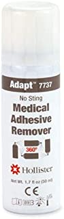 Hollister Adapt Medical Adhesive Remover, No Sting, 360° Spray 1.7 Oz