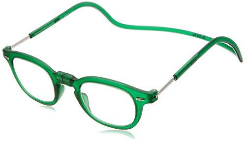 [クリックリーダー] 老眼鏡 Clic Vintage メンズ エメラルドグリーン 日本 +2.00-(FREE サイズ)