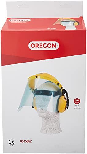 Oregon Q515062Visière en polycarbonate et Combinaison de casque anti-bruit pour tondeuse et Brushcutting