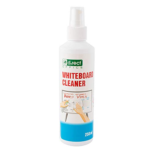 D.RECT Whiteboard Reiniger Pump-Spray-Flasche 250ml
