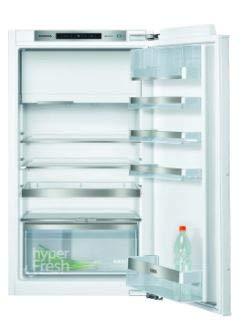 Siemens KI32LADF0 iQ500 Einbau-Kühlschrank mit Gefrierfach / A++ / 157 kWh/Jahr / 154 l / hyperFresh Plus / LED Beleuchtung / superCooling