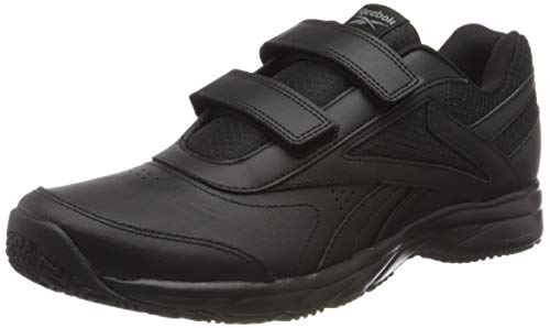 Reebok Men Shoes Walking Work N Cushion 4.0 KC Black Slip Oil Resistant FU7361 (Numeric_12)