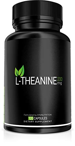 L-Theanine 200mg  150 Count (V-Capsules) / 150 Servings: Manufactured in a cGMP-Registered Facility in USA; Non-GMO, Vegan & Gluten Free