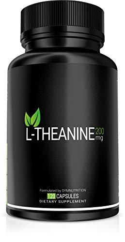 L-teanina 200 mg - 120 capsule in V | Preso per la sua capacità di promuovere concentrazione, rilassamento e sollievo dallo stress