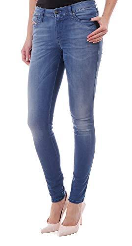 Diesel Doris SKinny0609Q - Pantalones vaqueros para mujer, color azul azul 23W x 32L