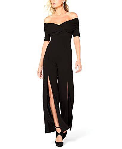 Guess Damen Half Sleeve Juda Jumpsuit, Jet Black a, X-Klein