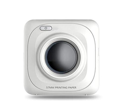 MOOLUNS Mini TéRmico Impresora de Etiquetas, Foto, Pregunta Equivocada, Artefacto de ImpresióN, ConexióN Bluetooth 200 dpi