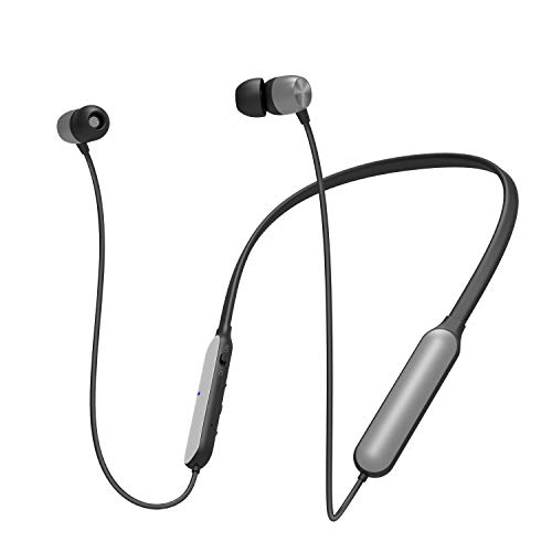 Friencity Bluetooth Headphones Earbuds for TV Watching w/Faststream Low Latency, Wireless Neckband Earphones with Noise Cancelling Mic for PC Cell Phones, 16H Playtime, Pair to Transmitter No Delay