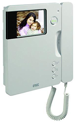 URMET 1740/40 - Videocitofono SIGNO a colori TFT 4' 50Hz color bianco predisposto per audiolesi.
