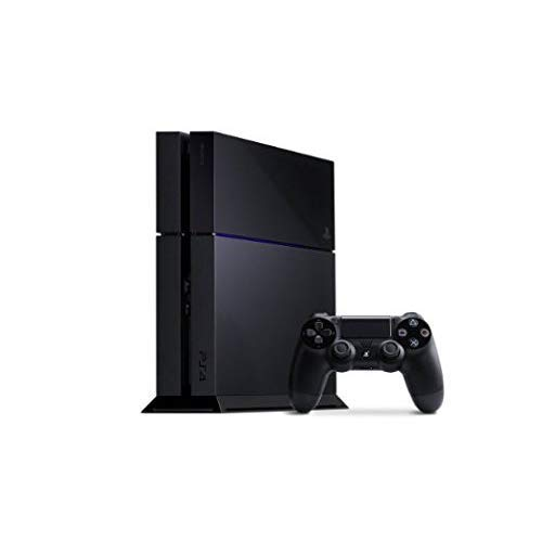 Sony PlayStation 4 Console, Renewed, Black