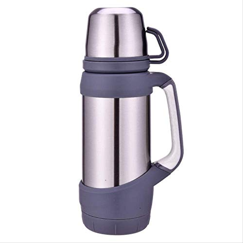 Travel Mug Vacuum Flasks Thermoses Stainless Steel 1.2l Big Size Outdoor Travel Cup Thermos Bottle Thermal Coffee Thermoses Cup