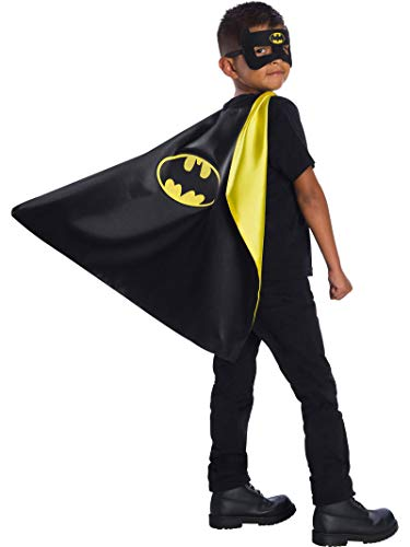 Rubie's Super Hero Cape Set Amazon Exclusive Officially Licensed DC Comics Assortment 4 Capes, 3 Masks, and 1 Chest Piec