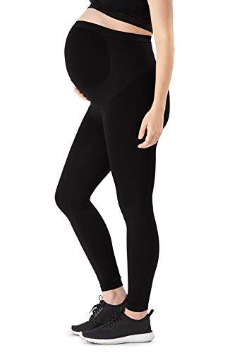 Belly Bandit Soutien de Grossesse Grossesse Bosse WonderWeave Stretch Vêtements de Maternité Leggings - Noir : Petit