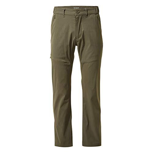 Pantaloni Kiwi Pro Craghoppers da uomo, Khaki scuro, 40 lunghi