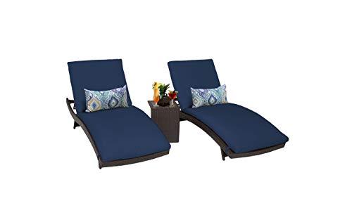 TK Classics Barbados Outdoor Patio Furniture, Navy