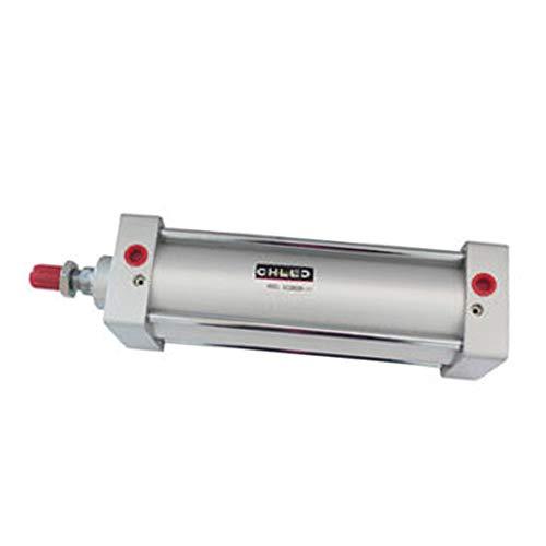 Woljay Cilindro de aire neumático SC 125 x 250 PT 1/2 Vástago de pistón atornillado Diámetro de doble acción: 125 mm Carrera: 250 mm