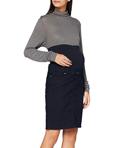 Noppies Jeans Skirt OTB Adare Falda, Azul medianoche-P306, S para Mujer