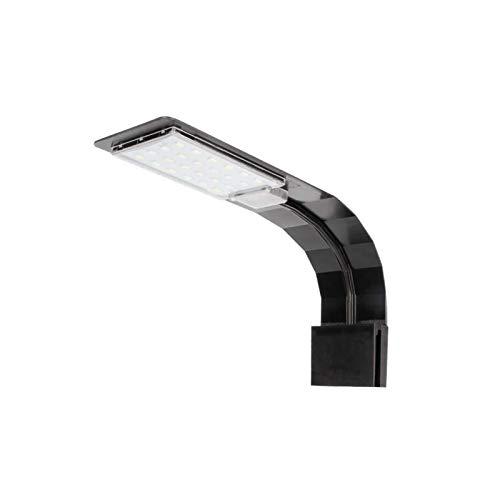 DANYIN Clip de luz de iluminación de Acuario, luz ultral Delgada del Acuario, IPX7 a Prueba de Agua, luz de Acuario led (Color : Black-M280)