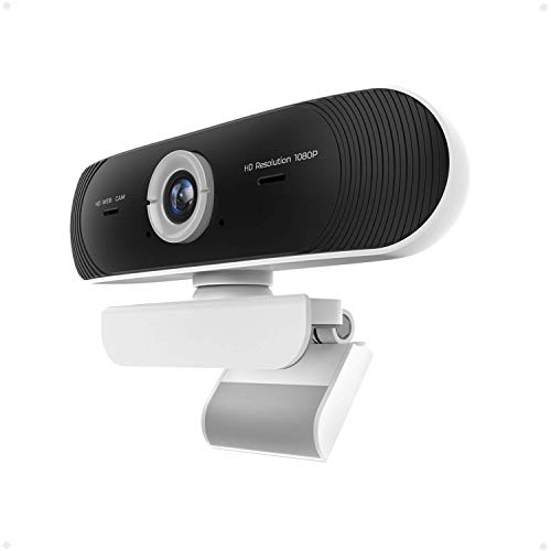Webcam with Microphone for Desktop,HD1080P H.264 Video PC Laptop USB Webcam, Plug and Play Web Camera, Widescreen Computer Streaming Camera for Video Call, Conference, Recording, Online Classes