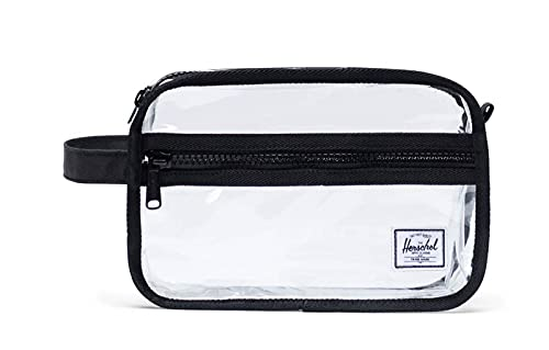 Herschel Chapter Travel Kit Black/Clear