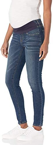 Signature by Levi Strauss Co Gold Label Women s Maternity Baby Bump Skinny Jeans Blue Laguna product image