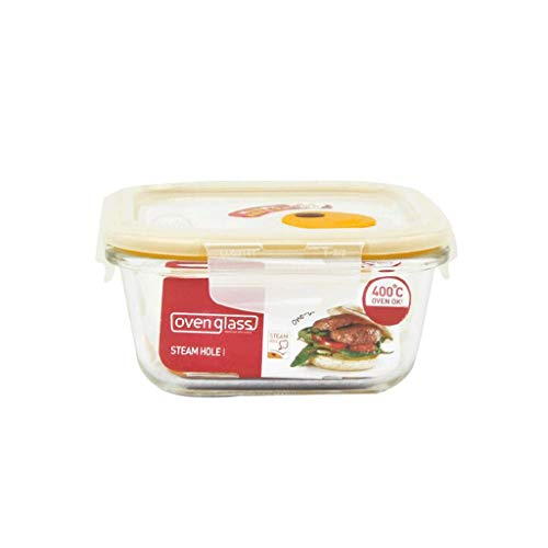 ZL-Porta alimentos Estufa de Vapor Caja de Almacenamiento de microondas (Tamaño : 750ml)