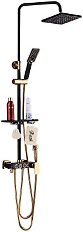 Lxc Badezimmer Kupfer Duschset Einzelduschset Booster Top Sprühdüse Wasserhahn Komfort erleben