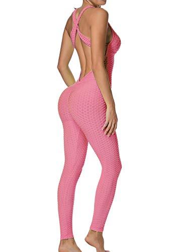 FITTOO Mallas Pantalones Deportivos Leggings Mujer Yoga de Alta Cintura Elásticos y...