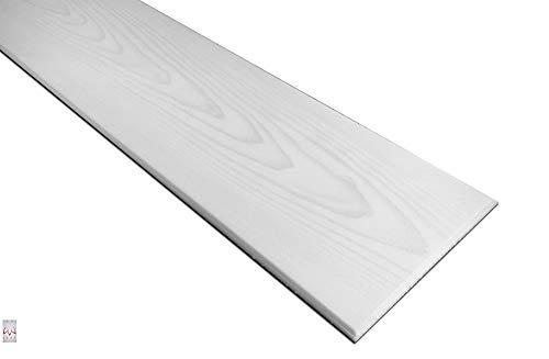 20qm / 120 Stück Deckenplatten Deckenpaneele Holz Deckenverkleidung Holzoptik Holzimitat POLYSTYROL MATERIAL Silber