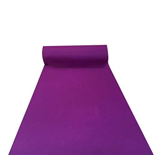 Paarse bruiloft tapijt leggen wegwerp verdikking 2 MM slijtvaste anti-slip tapijt loper voor trappen/Aisle/partij tapijt