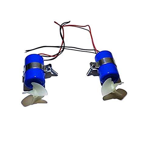 LICHIFIT RC Jet Boot Unterwasser Motor Thruster 7.4V 16800RPM CW CCW 3-Blatt Propeller für DIY Micro ROV Roboter RC Köder Boot U-Boot Zubehör