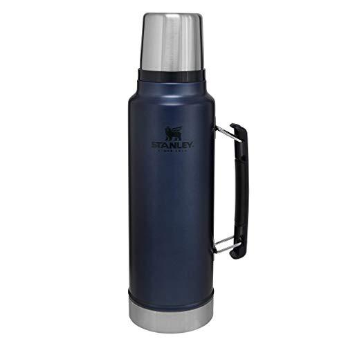 Stanley Classic VacuumInsulatedWide MouthBottle, Nightfall- BPA-Free 18/8 Stainless...