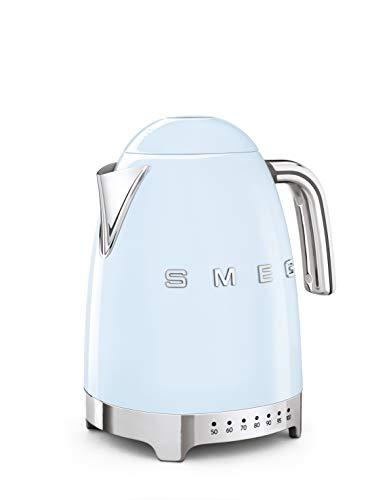 Smeg KLF04PBEU - Hervidor eléctrico (7 unidades), color azul pastel