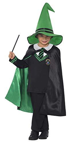 Smiffys Costume garçon magicien, avec pull, cape et chapeau