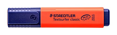 Staedtler Textsurfer Classic 364 Highlighter - Red, Pack of 10 Photo #3