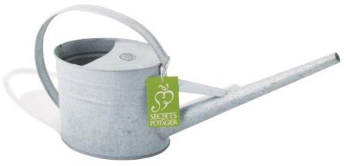 Esschert Design Gießkanne für Zimmerpflanzen, Blumengießer, Pflanzengießer, Maße 42x11x19 cm, Fassungsvermögen 1,5 Liter