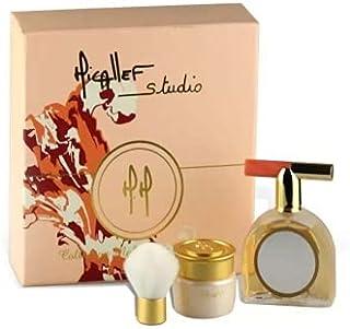Micallef Studio Make Up & Perfume Eau De Parfum, 75 ml + Blush, 15 gm + Lipgloss, 5 gm + Brush Set