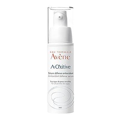Eau Thermale Avene A-Oxitive Antioxidant Defense Serum, Vitamin C & E, Hyaluronic Acid, Free Radical Protection, 1 oz.