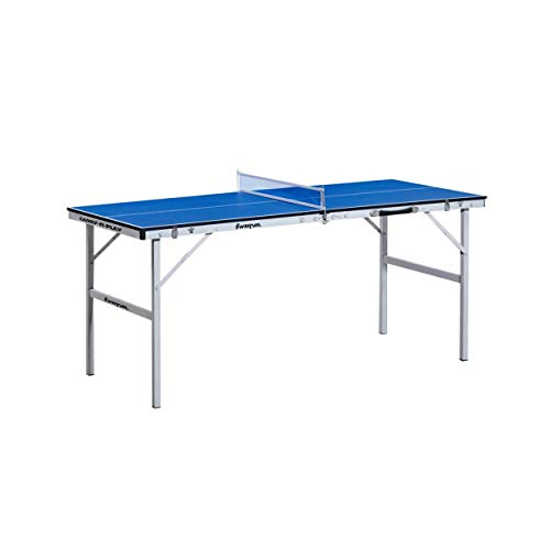 Harvil 60-Inch Folding Portable Table Tennis Table for Kids with Free Accessories